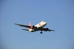 Amsterdam die Niederlande - 6. Mai 2016: OK-NEO Czech Airlines Lizenzfreies Stockbild