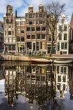 Amsterdam domy Obrazy Stock