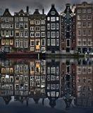 Amsterdam Domy Obraz Royalty Free