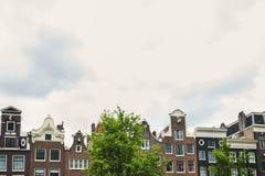 Amsterdam domy Zdjęcia Stock