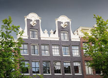 Amsterdam, dutch gable house Stock Images