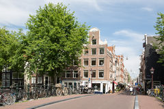 Amsterdam Dutch Houses Royalty Free Stock Photo