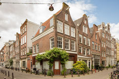 Amsterdam Dutch Houses Stock Images