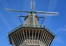 Amsterdam endast väderkvarn Royaltyfri Foto