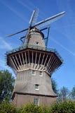 Amsterdam endast väderkvarn Fotografering för Bildbyråer