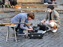 Amsterdam erbjudanden varje sommar låg-kostar alldeles underhållning, speciala kapaciteter, festivaler, kulturella händelser och  Royaltyfri Foto