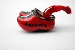 Amsterdam färbte Duch Stockbild