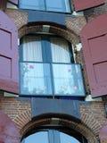 amsterdam fönster Arkivbilder