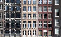 amsterdam fönster Arkivbild