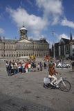 amsterdam fördämningfyrkant Royaltyfria Foton