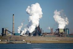 amsterdam fabriker Arkivbild