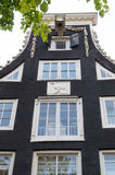 amsterdam facades Arkivfoto