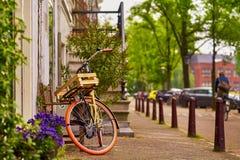 Amsterdam-Fahrrad Stockfoto