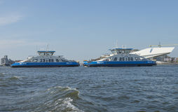 Amsterdam ferries Stock Images