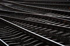 Amsterdam ferroviaria Immagini Stock