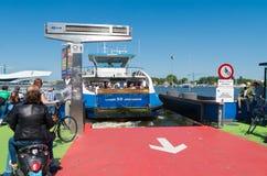 Amsterdam ferry boat Stock Image