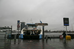 Amsterdam ferry Stock Images
