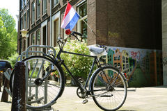 Amsterdam Fiets Stock Foto