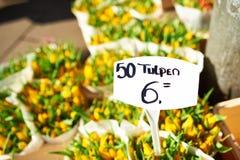Amsterdam flower market Stock Photography