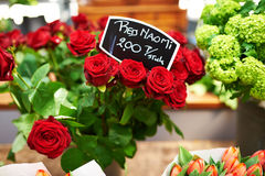 Amsterdam flower market Royalty Free Stock Images