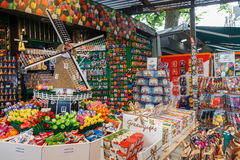 Amsterdam flower market. Royalty Free Stock Images