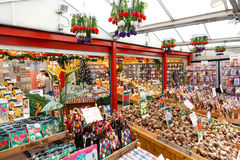 Amsterdam flower market. Royalty Free Stock Photos
