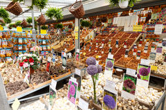 Amsterdam flower market. Stock Photo