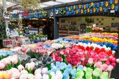 Amsterdam flower market. Stock Images