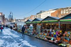 Amsterdam flower market Stock Photos