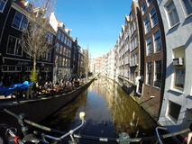 Amsterdam-Fluss Stockfoto