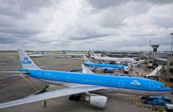 Amsterdam flygplats Schiphol Royaltyfri Fotografi