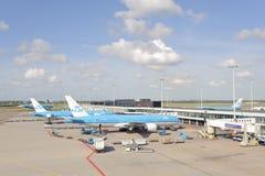 Amsterdam flygplats Schiphol Fotografering för Bildbyråer