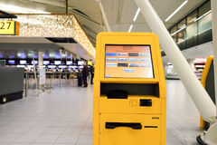 Amsterdam flygplats Schiphol Royaltyfri Foto