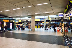 Amsterdam flygplats Schiphol Royaltyfria Foton