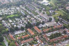 Amsterdam från nivån royaltyfri bild