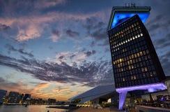 Amsterdam futurista Imagen de archivo libre de regalías