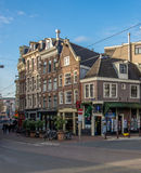 Amsterdam gata Royaltyfri Fotografi