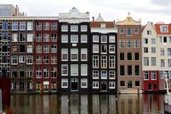 Amsterdam hus Royaltyfri Foto