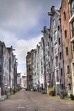Amsterdam gata, Holland Royaltyfria Bilder