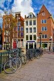 Amsterdam gator Arkivfoton