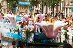 Amsterdam. Gay Pride 2009 Royalty Free Stock Photography