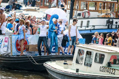 Amsterdam Gay Pride 2015 Royalty Free Stock Photography