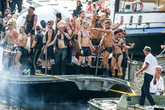 Amsterdam Gay Pride 2015 Stock Photo