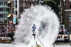 Amsterdam Gay Pride 2015 Stock Photos