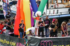 Amsterdam Gay Pride 2015 Royalty Free Stock Photo
