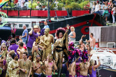 Amsterdam Gay Pride 2015 Stock Images