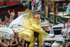 Amsterdam Gay Pride 2015 Royalty Free Stock Photos