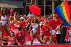 Amsterdam  Gay Pride 2014 Stock Photos