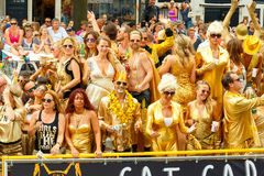 Amsterdam  Gay Pride 2014. Stock Images
