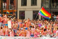 Amsterdam  Gay Pride 2014. Royalty Free Stock Photos